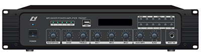 Mixer Amplifier with MP3/FM Tuner