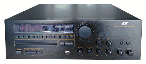 Amplifier with DVD/CD/VCD/MP3/MP4