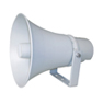 Outdoor Horn Speaker with Power Taps
