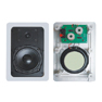 In Wall/Ceiling Speaker with Tweeter