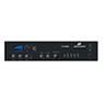 4 Zone Digital Mixer Amplifier with MP3/Tuner/Bluetooth/Remote Paging